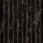 zwart vliegengordijn 100x240cm