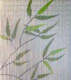 vliegengordijn botanische palm bladeren