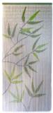 deurgordijn botanische palm bladeren