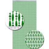 Vliegengordijn kralen groen transparant 90x210cm_