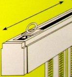 Vliegengordijn pvc zwaar grijs/taupe 100x220cm_