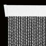 Vliegengordijn luxe Venetië zwart 92x210cm_