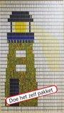 Vliegengordijn bouwpakket vuurtoren 90x210cm_