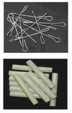 Vliegengordijn bouwpakket palmboom met strand 90x210cm_