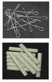 Vliegengordijn bouwpakket Franse lelie wit/antraciet 90x210cm_