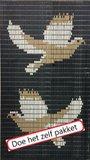 Vliegengordijn bouwpakket duiven 90x210cm_