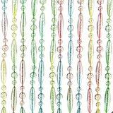 Vliegengordijn kralen multi color 90x210cm_