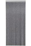 Showroommodel Vliegengordijn hulzen antraciet 90x210cm_