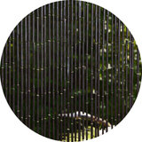 Vliegengordijn bamboe dark 90x200cm_