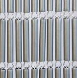 Vliegengordijn hulzen zilver recht 100x240cm_