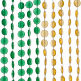kralengordijn gekleurde strengen