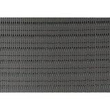 Vliegengordijn kralen perla zwart 100x240cm (100 strengen)_