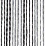 Vliegengordijn Victoria 100x240cm (zilver-zwart)_