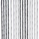 Vliegengordijn Victoria 100x240cm (wit-zilver)_