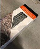 Bamboe vliegengordijn taupe-grijs 90x200cm_