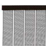 Vliegengordijn kunststof zwart 90x220cm_
