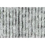 Vliegengordijn caravan grijs/wit 56x180cm _