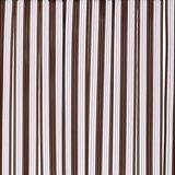 Vliegengordijn pvc zwaar donkerbruin 100x220cm_