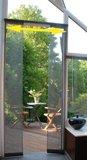 Vliegengordijn schuifbaar lamellen 100x220cm_