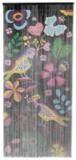 Vliegengordijn Kitsch Kitchen tropische vogels 90x200cm_