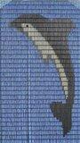 Vliegengordijn bouwpakket dolfijn 100x240cm_
