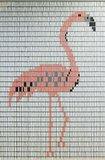 Vliegengordijn bouwpakket flamingo 100x240cm_