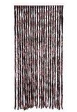 Vliegengordijn twisted plush bruin 90x205cm_