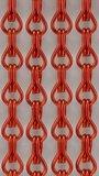 Vliegengordijn kettingen rood glans 90x210cm_