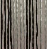 Vliegengordijn Victoria 90x220cm (zilver-zwart)_