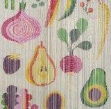 Vliegengordijn Kitsch Kitchen fruit 90x200cm_