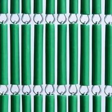Vliegengordijn op maat: hulzen groen
