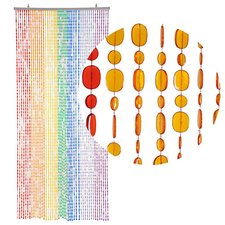 Kralengordijn pailletten gekleurd 90x200cm (49 strengen)