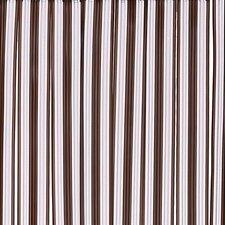 Vliegengordijn pvc zwaar donkerbruin 100x220cm