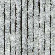 Vliegengordijn kattenstaart 100x240cm mét opbergtas (grijs/wit)
