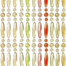Vliegengordijn kralen recht kleurenmix 90x210cm