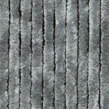 Vliegengordijn kattenstaart 100x240cm mét opbergtas (grijs)
