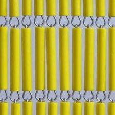 Vliegengordijn op maat: hulzen geel