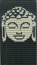 Vliegengordijn op maat: Boeddha antraciet/creme