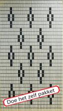 Vliegengordijn bouwpakket 13 sterren 90x210cm