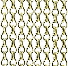Vliegengordijn kettingen lime glans 100x240cm