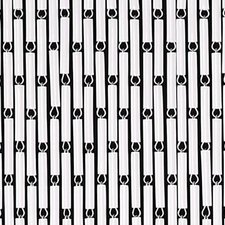 Vliegengordijn hulzen wit 100x240cm