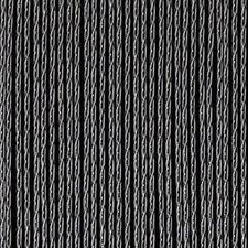 Vliegengordijn luxe Bali zwart-transparant 92x210cm