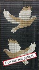 Vliegengordijn bouwpakket duiven 90x210cm