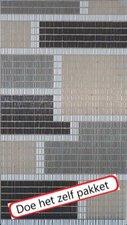 Vliegengordijn bouwpakket combi blok licht 90x210cm