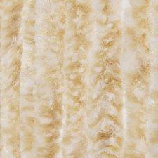 Vliegengordijn kattenstaart 100x240cm (beige/wit)