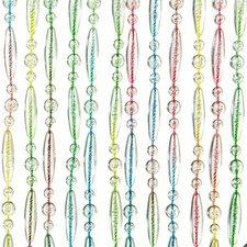 Vliegengordijn kralen multi color 90x210cm