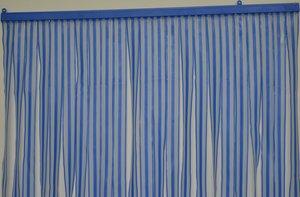 Showroommodel Vliegengordijn pvc zwaar blauw 90x220cm
