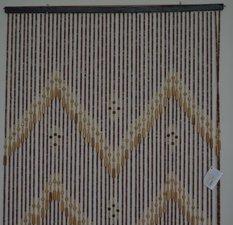 Kralengordijn hout 90x200cm