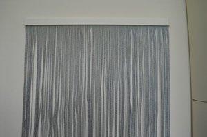 Showroommodel Vliegengordijn luxe Bali zwart-transparant 92x210cm