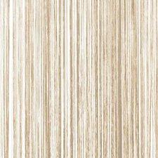 B keus Draadjesgordijn beige-bruin 90x200cm